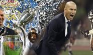 Zinedine Zidane: Lịch sử Real Madrid gọi tên