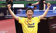 2 nhà vô địch Trung Quốc thua sốc thần đồng bóng bàn 14 tuổi Nhật Bản