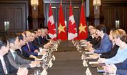 Hai Thủ tướng Việt Nam và Canada hội đàm: Không sử dụng vũ lực ở biển Đông