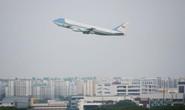 Tổng thống Donald Trump rời Singapore