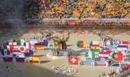Khai mạc World Cup 2018: Sắc màu và âm nhạc