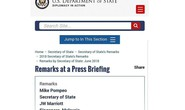 Sai sót khó đỡ, Bộ Ngoại giao Mỹ chọc giận dân Singapore