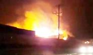 Cháy lớn thiêu rụi 20.000 m2 nhà xưởng trong khu công nghiệp