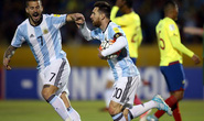 Trọng trách trên vai Messi