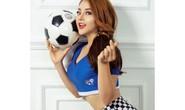 32 hotgirl Việt nóng bỏng trong sắc áo 32 đội tuyển World Cup 2018