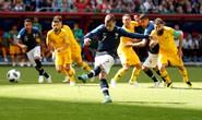 Trọng tài bẻ còi do công nghệ, Pháp thắng Úc nhọc nhằn