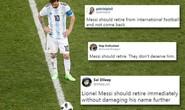 """CĐV kêu gọi Messi """"bỏ tuyển ngay lập tức"""" sau thảm bại trước Croatia"""