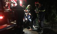 Cháy nhà tình thương, một chiến sĩ cảnh sát PCCC bị thương