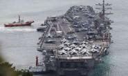 Cận cảnh siêu tàu sân bay Mỹ tuần tra biển Đông