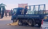 Xe máy tông vào hông xe tải sang đường, 1 phụ nữ tử vong tại chỗ