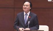 Ông Phùng Xuân Nhạ: Là bộ trưởng, tôi rất phản đối bạo hành trẻ mầm non
