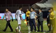 BHL SHB Đà Nẵng vào sân phản ứng trọng tài