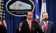 Trước thượng đỉnh Trump-Putin, Mỹ truy tố 12 sĩ quan tình báo Nga