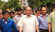 Bí thư Thành ủy TP HCM thăm hỏi người dân Thủ Thiêm