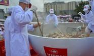 Tô phở hơn 1,3 tấn của Việt Nam lập kỷ lục thế giới