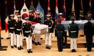 Máy bay quân sự Mỹ đưa hài cốt binh lính trở về từ Triều Tiên