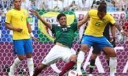 """HLV Mexico: """"Trọng tài thiên vị Brazil"""""""