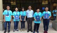 Học sinh Trường Trần Đại Nghĩa đoạt 5 huy chương kỳ thi toán quốc tế