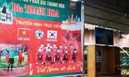 Bố thủ môn Bùi Tiến Dũng mổ trâu thết đãi dân làng cổ vũ Olympic Việt Nam