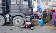 Xe ben càn xe máy, 2 người tử vong tại chỗ
