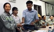 Nhà thầu chính trả tiền cho lao động thời vụ bị nợ lương
