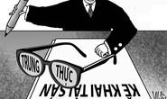 Thạc sĩ phòng chống tham nhũng: Đào tạo để làm gì?