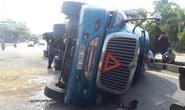 Xe tải càn Quốc lộ 91,  10 người đi xe máy bị thương
