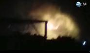 Hàng loạt vụ nổ lớn tại căn cứ không quân Syria