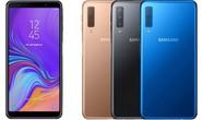 Galaxy A7 mới, điện thoại đầu tiên của Samsung có 3 camera phía sau