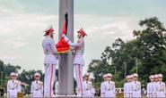 Toàn cảnh Lễ treo cờ rủ Quốc tang Chủ tịch nước Trần Đại Quang