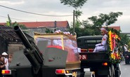 Linh xa Chủ tịch nước Trần Đại Quang về tới quê nhà