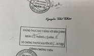 TP HCM: Phát hiện một phòng công chứng giả ở quận 9