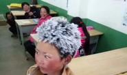 Trung Quốc: Lạnh đến mức tóc đóng băng ngoài trời