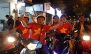 Người Sài Gòn đổ ra đường mừng chiến tích U23 Việt Nam