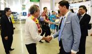 Những vị khách du lịch đầu tiên xông đất TP HCM