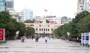 Đường Nguyễn Huệ cấm xe lưu thông tối 13 và 14-1