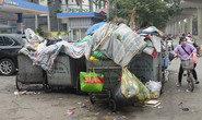 Người dân chặn xe vào bãi rác, rác trong nội thành Hà Nội bị ùn ứ