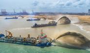 Trung Quốc lấn biển để xây thành phố cảng 1,4 tỉ USD ở Sri Lanka