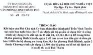 TP HCM sẽ bán đấu giá 5 lô đất ở Thủ Thiêm