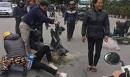 Thực hư việc CSGT Thanh Hóa quăng lưới trúng học sinh té ngã
