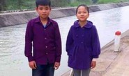Nam sinh 11 tuổi lao xuống dòng nước xiết cứu bạn nữ rơi xuống kênh