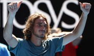 Giải Quần vợt Úc mở rộng: Ấn tượng với lãng tử Tsitsipas