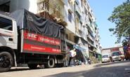 TP HCM: Tháo dỡ chung cư nghiêng ở quận 1