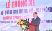 Thủ tướng phát lệnh thông xe cầu Hưng Hà gần 3.000 tỉ đồng