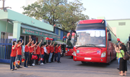 Công ty CP Saigon Food: Chi 1,4 tỉ đồng đưa công nhân về quê đón Tết