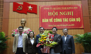 Ông Phan Việt Cường trở thành tân Bí thư Tỉnh ủy Quảng Nam