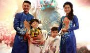 Vợ chồng Lâm Vỹ Dạ - Hứa Minh Đạt mang 2 con đến Táo quậy