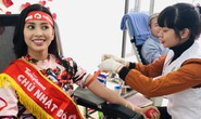 Hoa hậu Trần Tiểu Vy hồi hộp trong lần đầu hiến máu