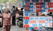 Hàng chục ngàn sim điện thoại không rõ chủ sở hữu, đồng loạt kiểm tra các đại lý bán sim