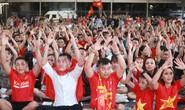 Hàng ngàn người hát vì đội tuyển